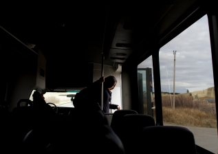 Jessica Long Knife rides two buses a total of four hours each day to commute the 80 miles from her home on the southern end of Fort Belknap Indian Community to Montana State University-Northern in Havre. She often is the last person off the bus each evening.